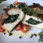 Chicken Breast stuffed with Spinach and Mozzarella