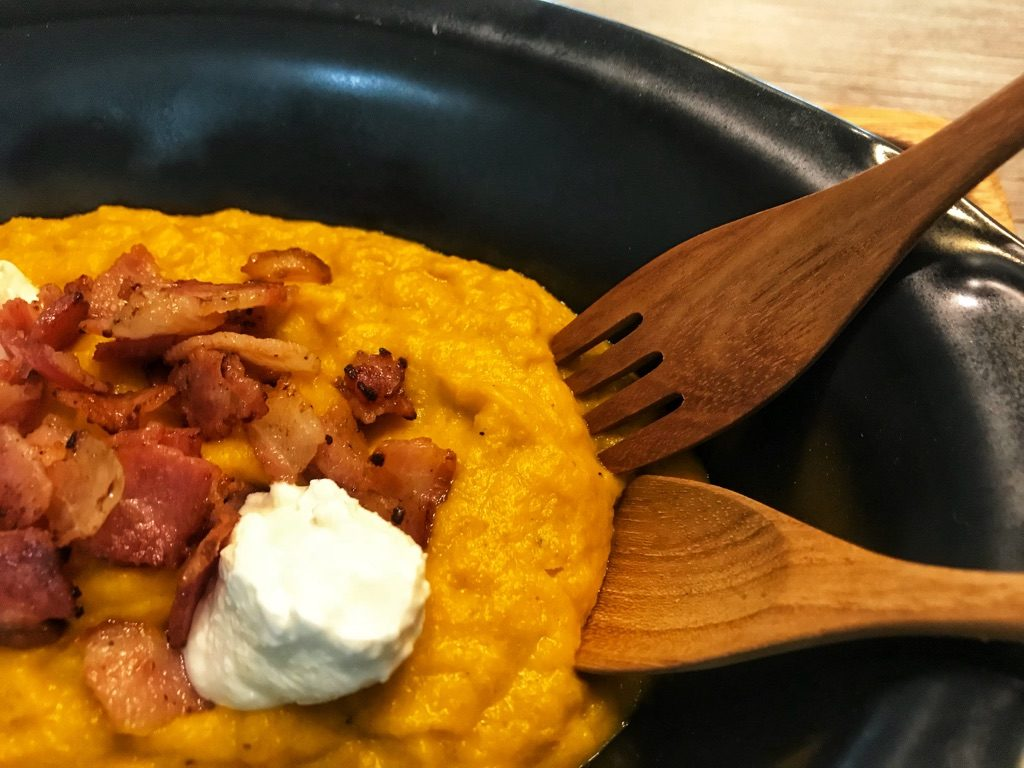 easy low carb dish with pumkin