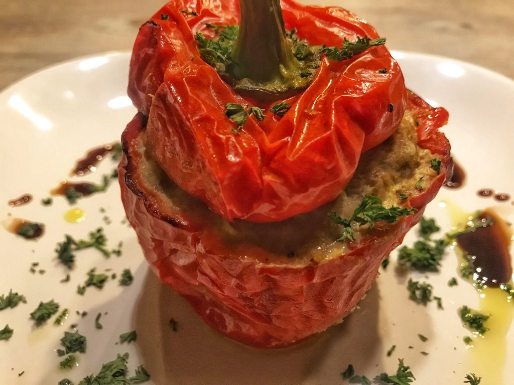 Stuffed Peppers Greek Style