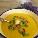 creamy low carb pumpkin soup