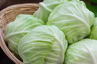 Cabbage is a healthy low carb veggie too
