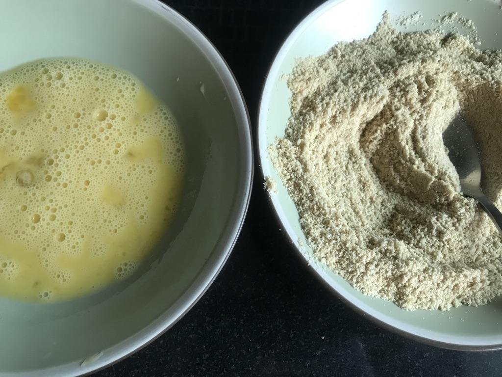 eggs and almond flour