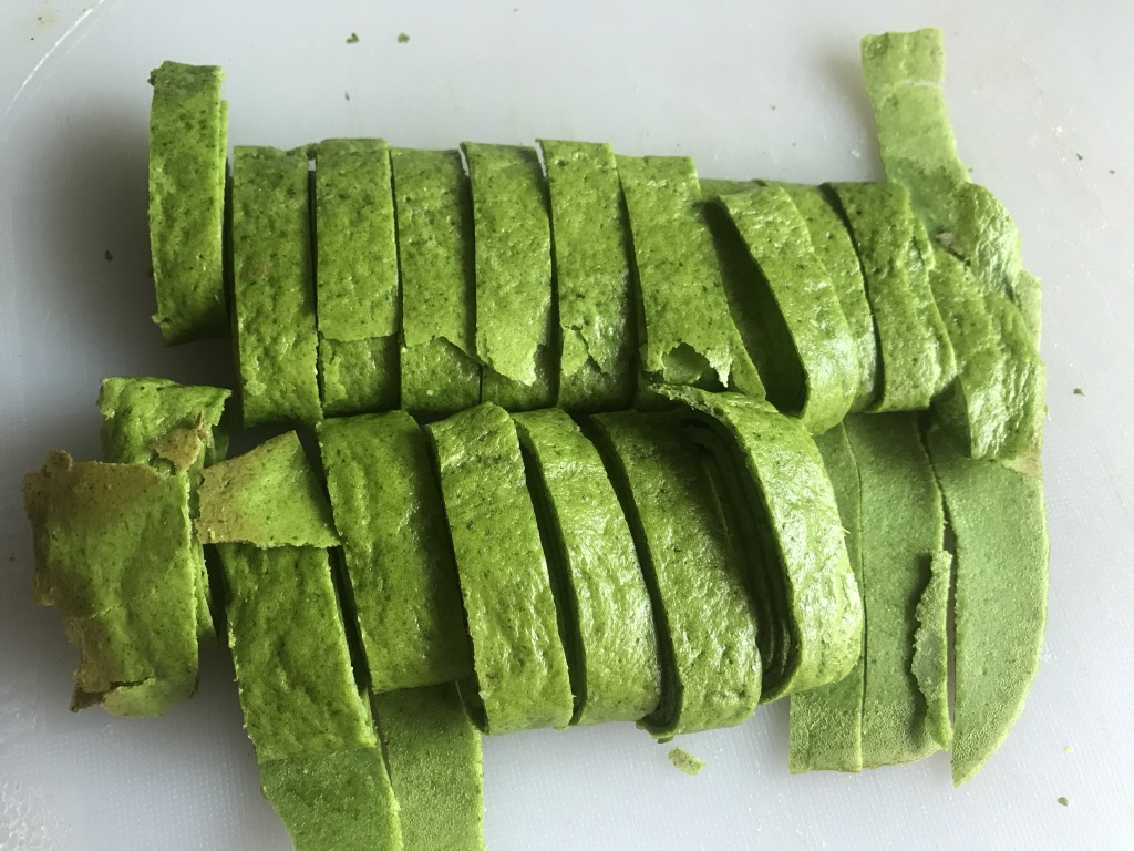 low carb spinach noodles