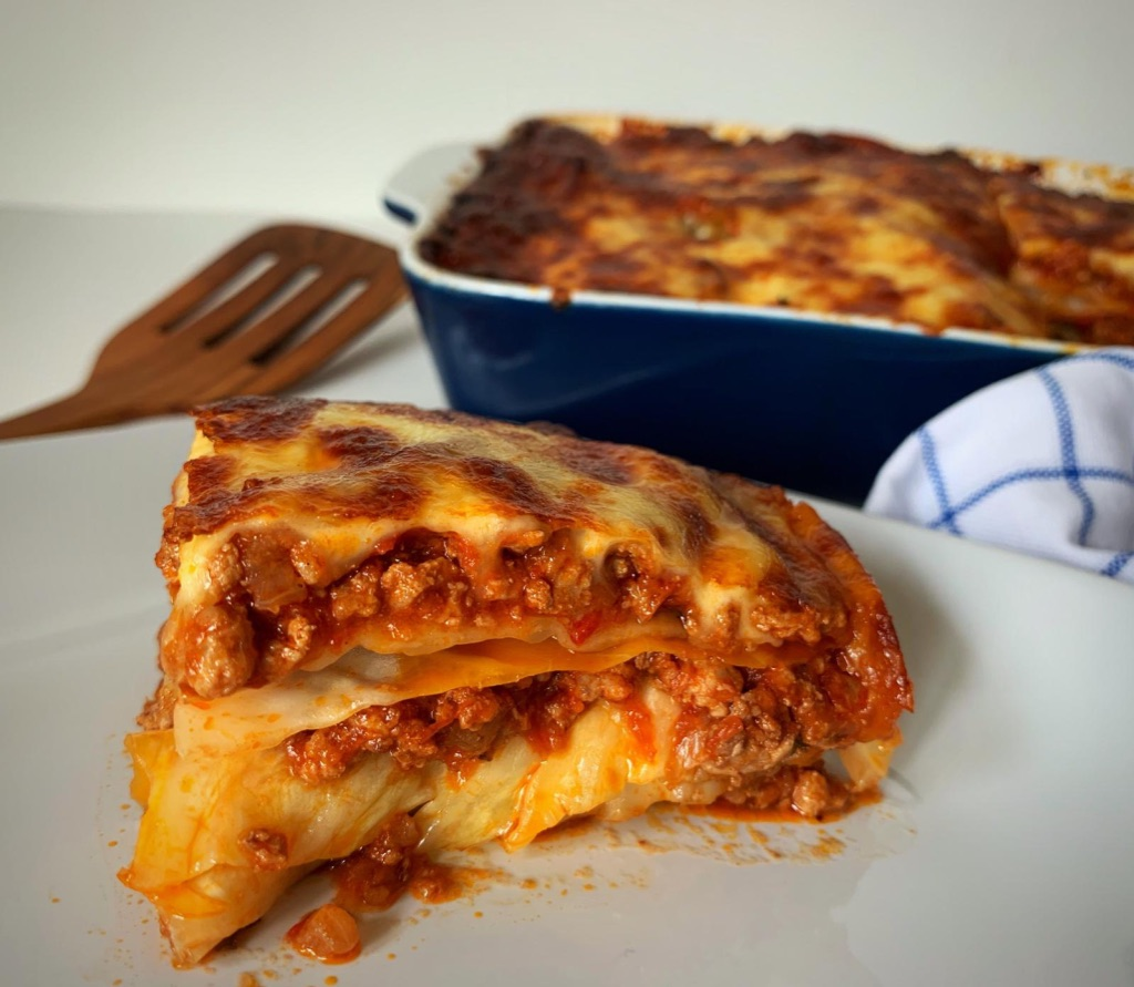 low carb recipe for the best cabbage lasagna