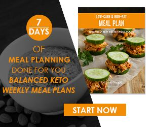 Keto meal plan for 7 days