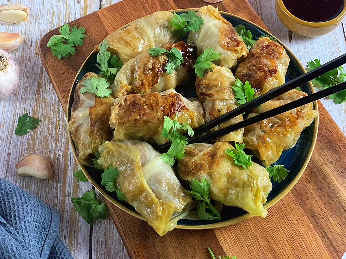 Keto Cabbage Gyoza Recipe Mylowcarbmeals