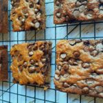 Low Carb Chocolate Chip Banana Bars