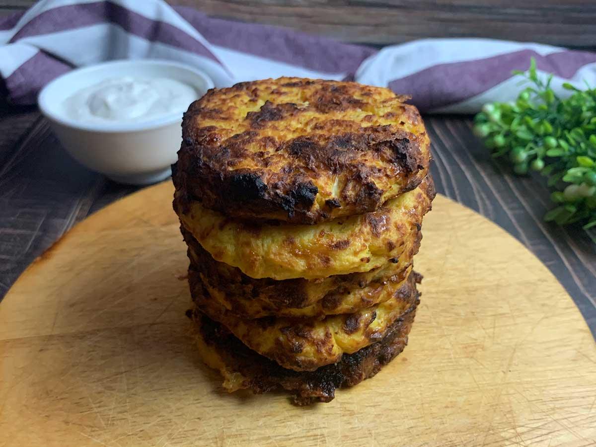 recipe for low carb Cauliflower Patties